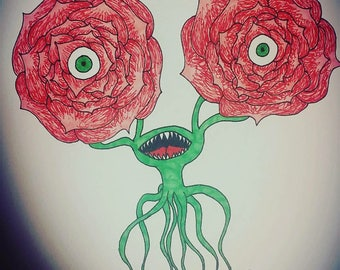 Rose Monster