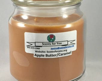 Apple Butter Caramel Large Candle