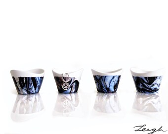 Modern, Medium Ceramic Bowls