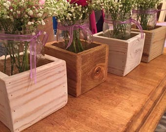 Individual Wooden Boxes
