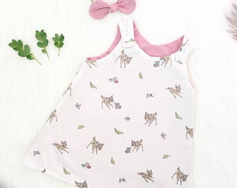 Dusty Pink Bambi Dress