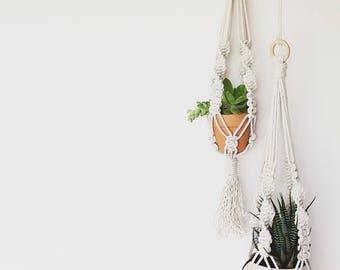 Mini Plant hanger  Wall hanging