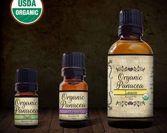 Lemongrass Essential Oil   certified organic, steam distilled  