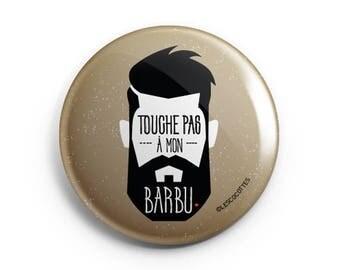 BADGE - key not in my beard.