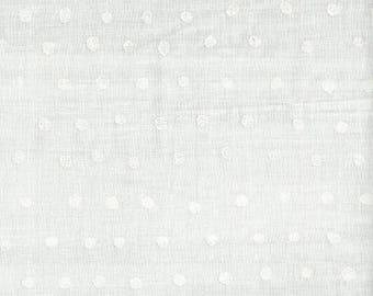 Nani Iro Japanese Fabric Kokka Pocho Double Gauze - pearl - 50cm