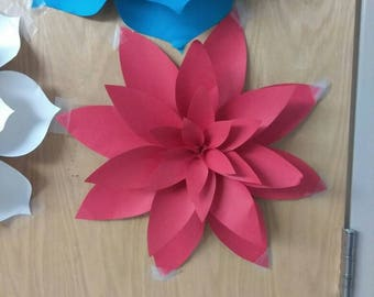 Paper flowers decorations #3