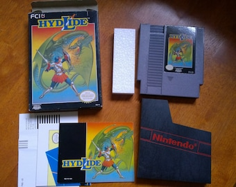 Hydlide NES, complete, very NICE!