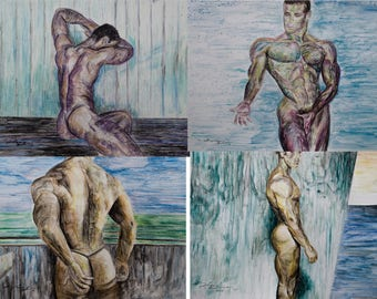series of male nudes 5