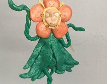 Flower Power Fairy Goddess Figure