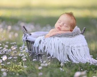 On Sale! Newborn Digital Backdrop/Digital Background/White Flowers/Basket Prop