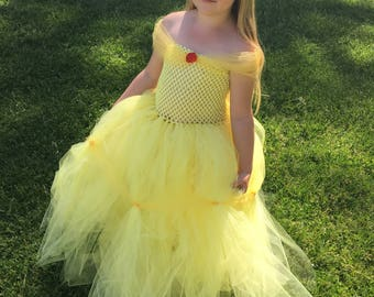 Belle tutu dress / ball gown