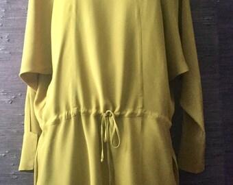 MARNI super unique silk dress size S-M