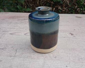 Small ceramic bottle