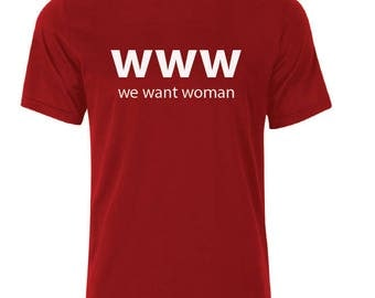 www T-Shirt - available in many sizes and colors