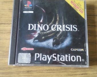 Ps1 game Dino crisis playstation pal