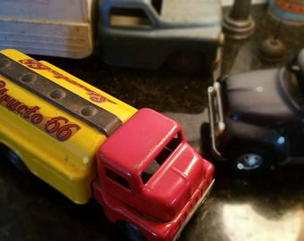 1950s Structo 66 Gas Tanker toy truck
