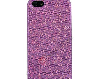 Purple glitter iPhone 6,6plus