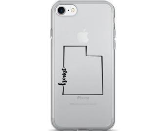 Utah Home State - iPhone Case (iPhone 7/7 Plus, iPhone 8/8 Plus, iPhone X)