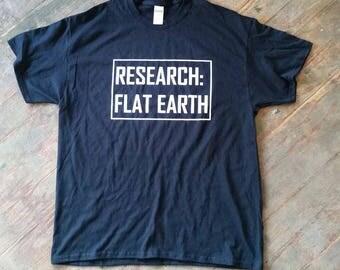 Reserach: Flat Earth