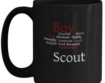 Boy Scout Law Coffee Mug