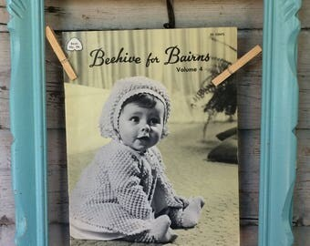 Vintage knitting book Beehive for Bairns volume 4