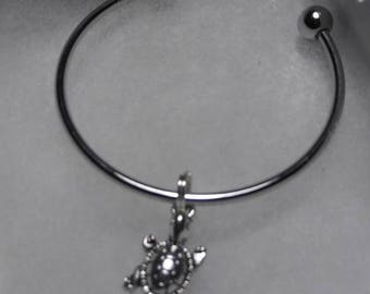 Girl's stainless steel bangle