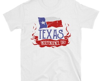 Texas Day T-shirts / Texas Independence Flag Day T-shirt