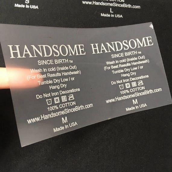 100 tagless heat transfer labels custom t shirt tag for Heat transfer labels for t shirts
