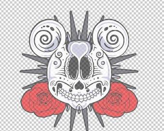 Dia De Los Muertos Mickey SVG