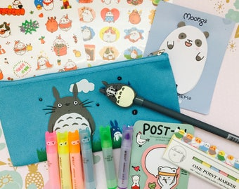 cute kawaii stationery pack/ japanese and korean stationery pack/