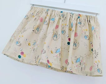 Peter rabbit skirt