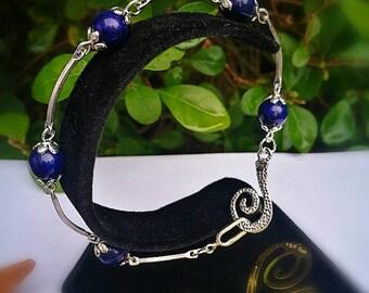 Gorgeous Lapis Lazuli Bracelet