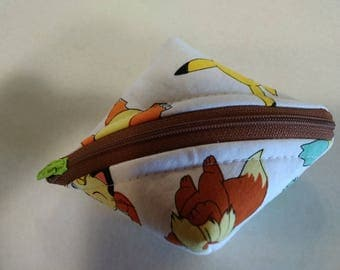 Super SweetPea Pouch - Small Zippered Pouch - Pokemon (White)