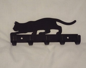 Wall hooks with Black Cat