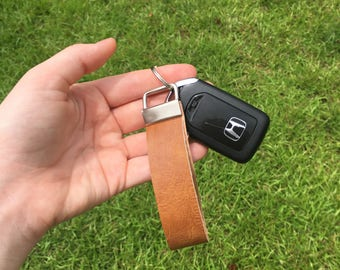 Genuine Leather Keychain