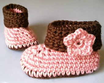 Crochet Cuffed Baby Booties, Baby Booties, Baby Shoes, Baby Gift, Crochet Baby Booties,Baby Shoes Girl, Baby Gift, Baby Shower Gift