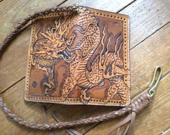 Wallet pattern dragon