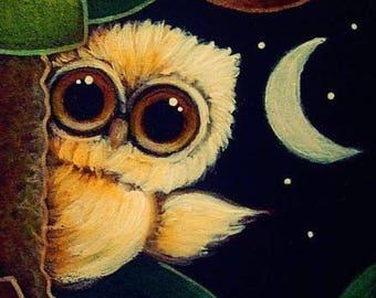 OWL COASTERS Adorable set of 4