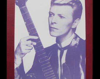 BOWIE, DAVID 1989 Sound And Vision Promotional 4-Page Rykodisc Pamphlet