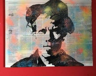 Tom Waits Pop Art