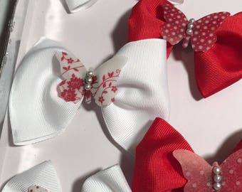 Beautiful Butterfly Hair Bow Set
