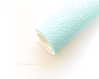 Powder Blue 8x11 Faux Leather, Fabric, Material