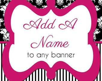 Add a Banner Name