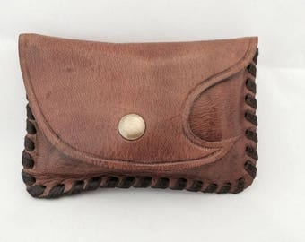 Leather wallet, leather waller for her,leather gift, Handmade gift for her, Girl friend gift, Custom name, Birthday gift, Women gift