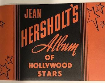 Jean Hersholt's Album of Hollywood Stars.