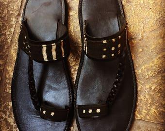 Bogolan sandles