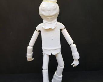 3D Print - Scarecrow Return to Oz - 7'' figure - Customize!