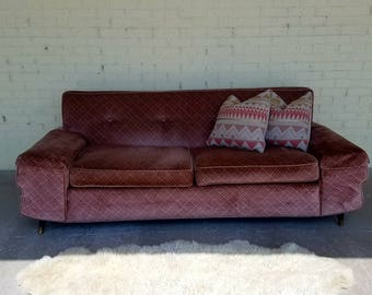 Mid Century Modern 1950s Sofa Couch