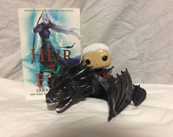 Custom - Funko Pops - Manon on Abraxos - Throne of Glass - Sarah J Maas