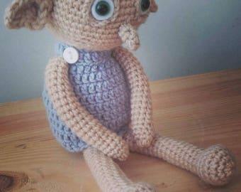 dobby crochet toy